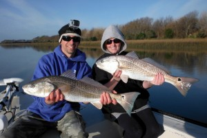 Winter Redfish