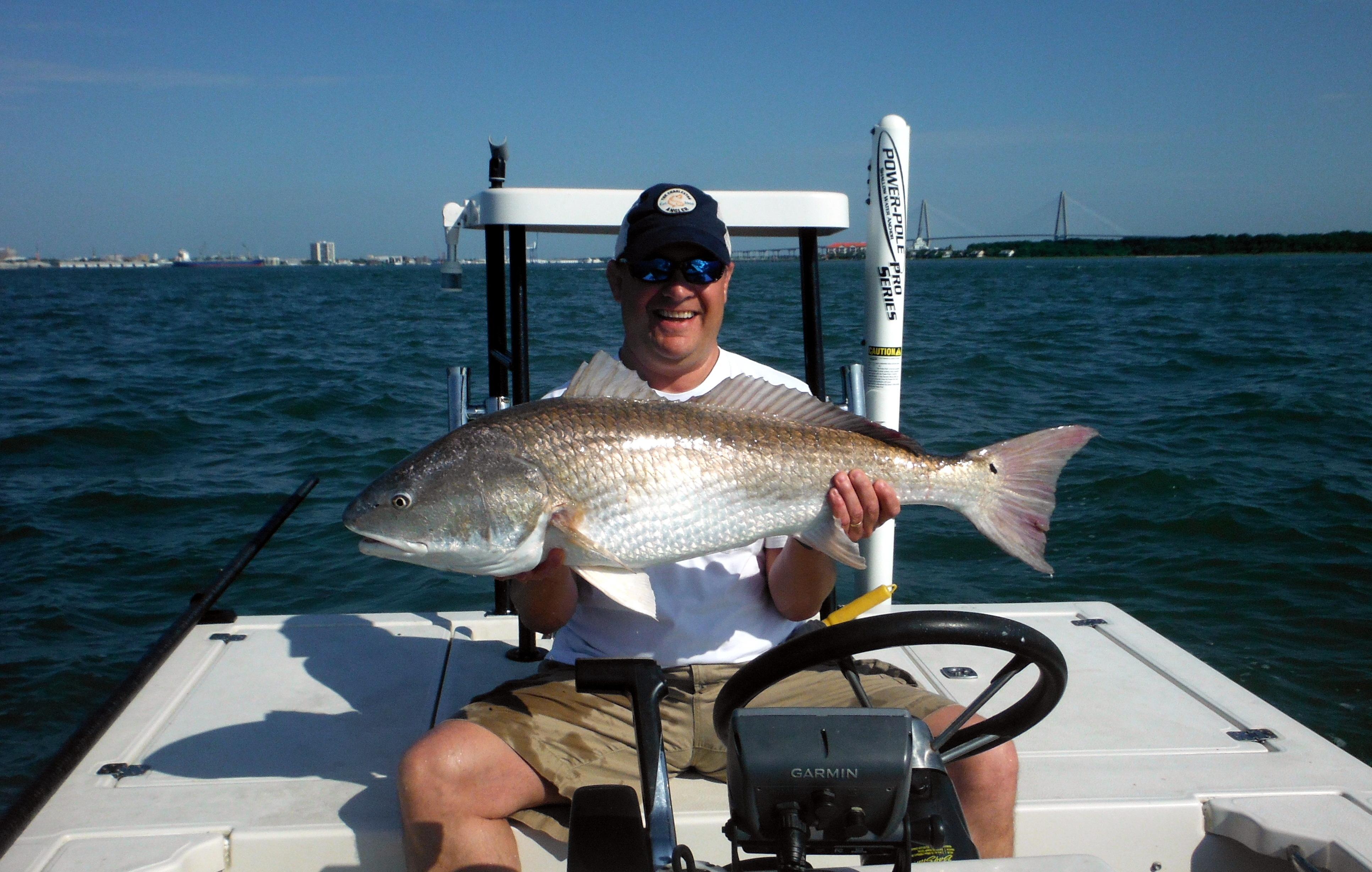 Charleston bull redfish charleston charter fishing for Charleston fishing charters