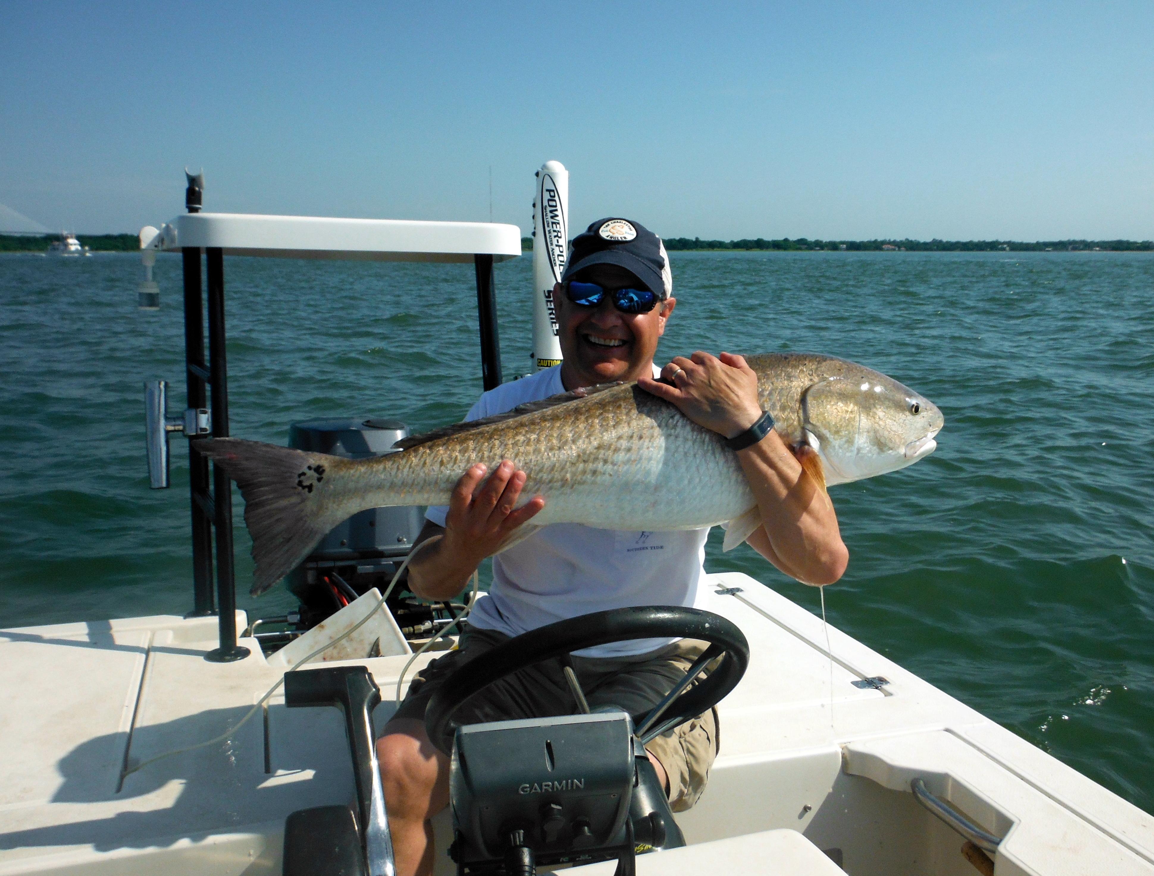 Charleston Bull Redfish Charleston Charter Fishing