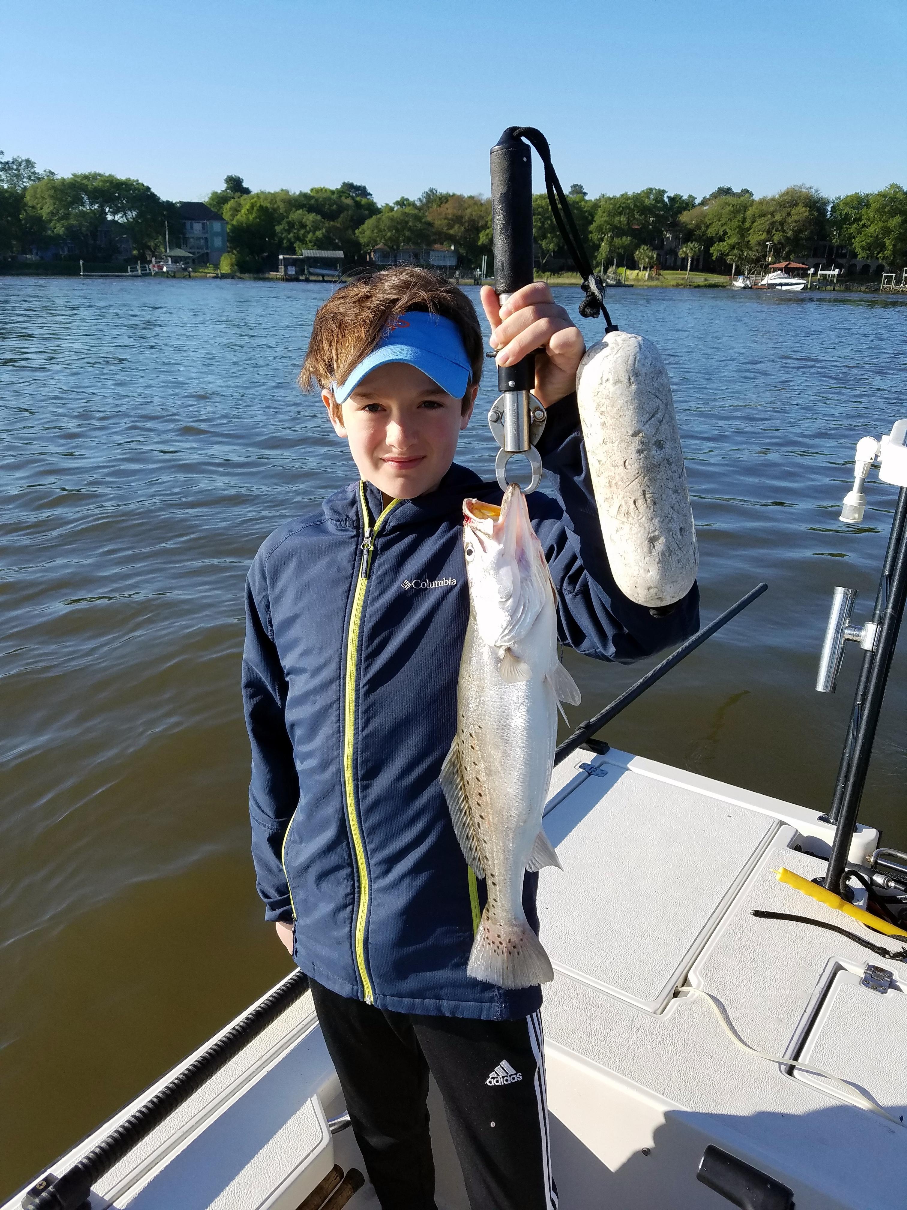 April 2016 charleston charter fishing for Charleston charter fishing