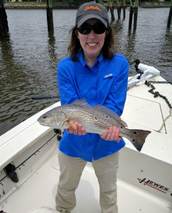 First Redfish Ever!