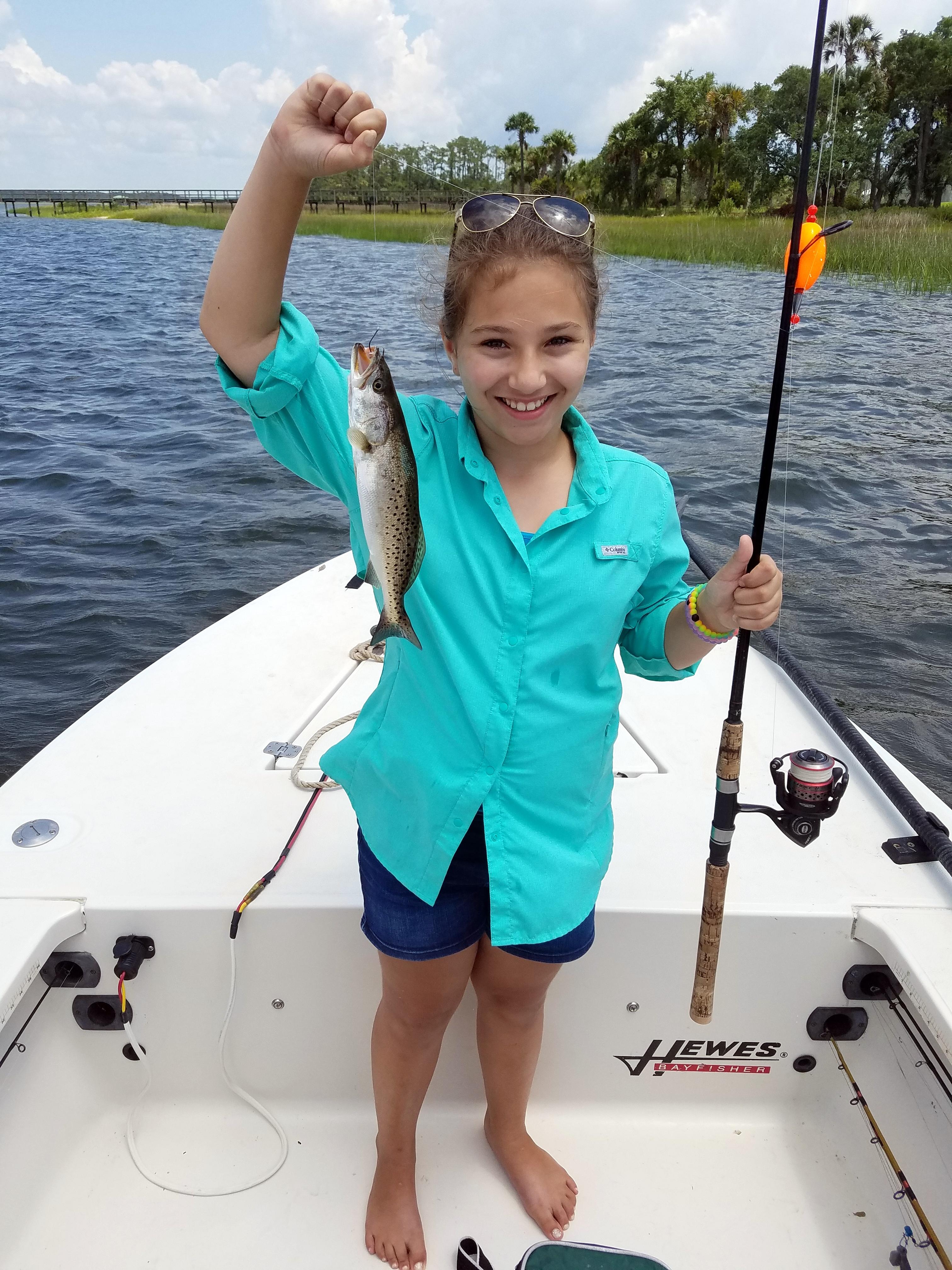 Charleston kids fishing charleston charter fishing for Charleston fishing charters