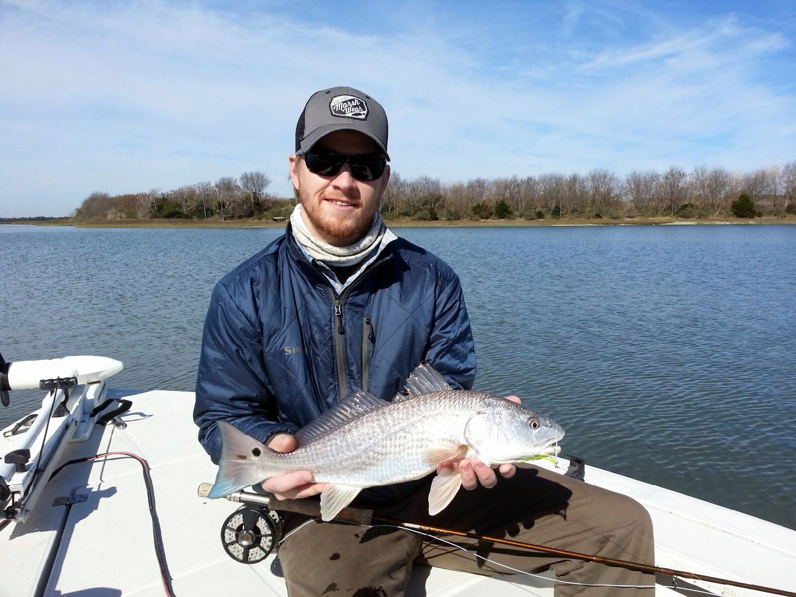 Fly fishing for charleston redfish charleston charter for Charleston fly fishing